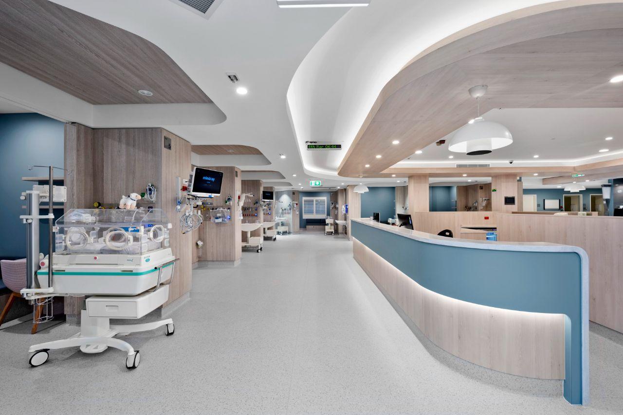 IPA Healthcare Westmead Maternity Baby Corian Raincloud
